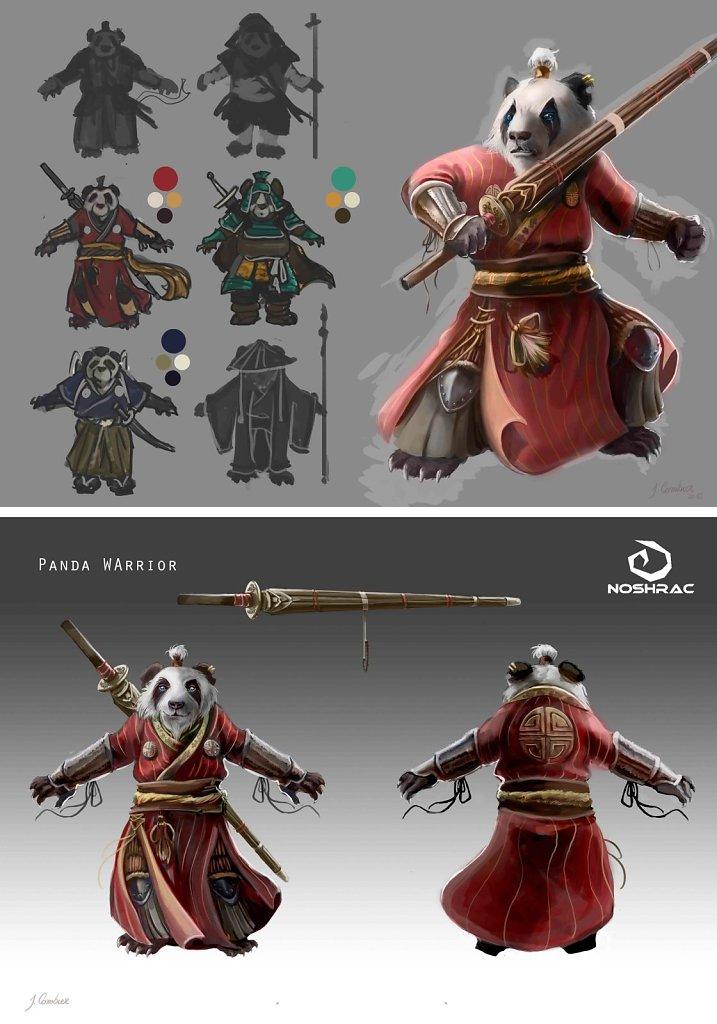 Guerrier Panda